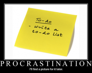 procrastination-to-do